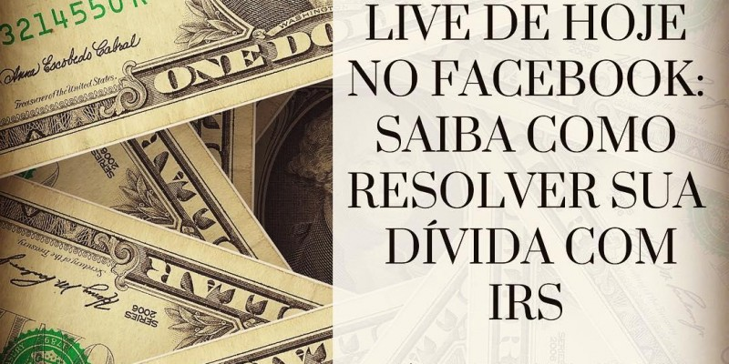 Saiba como resolver a sua dívida com IRS