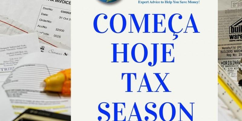 Inicia hoje, dia 27 de janeiro de 2020, a temporada de declaração de imposto de renda americano