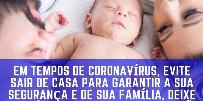 Em tempos de coronavirus, pense na sua segurança