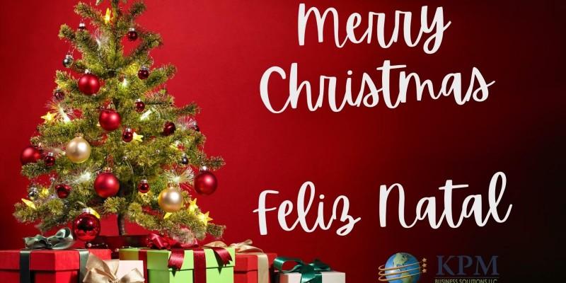 Merry Christmas - Feliz Natal