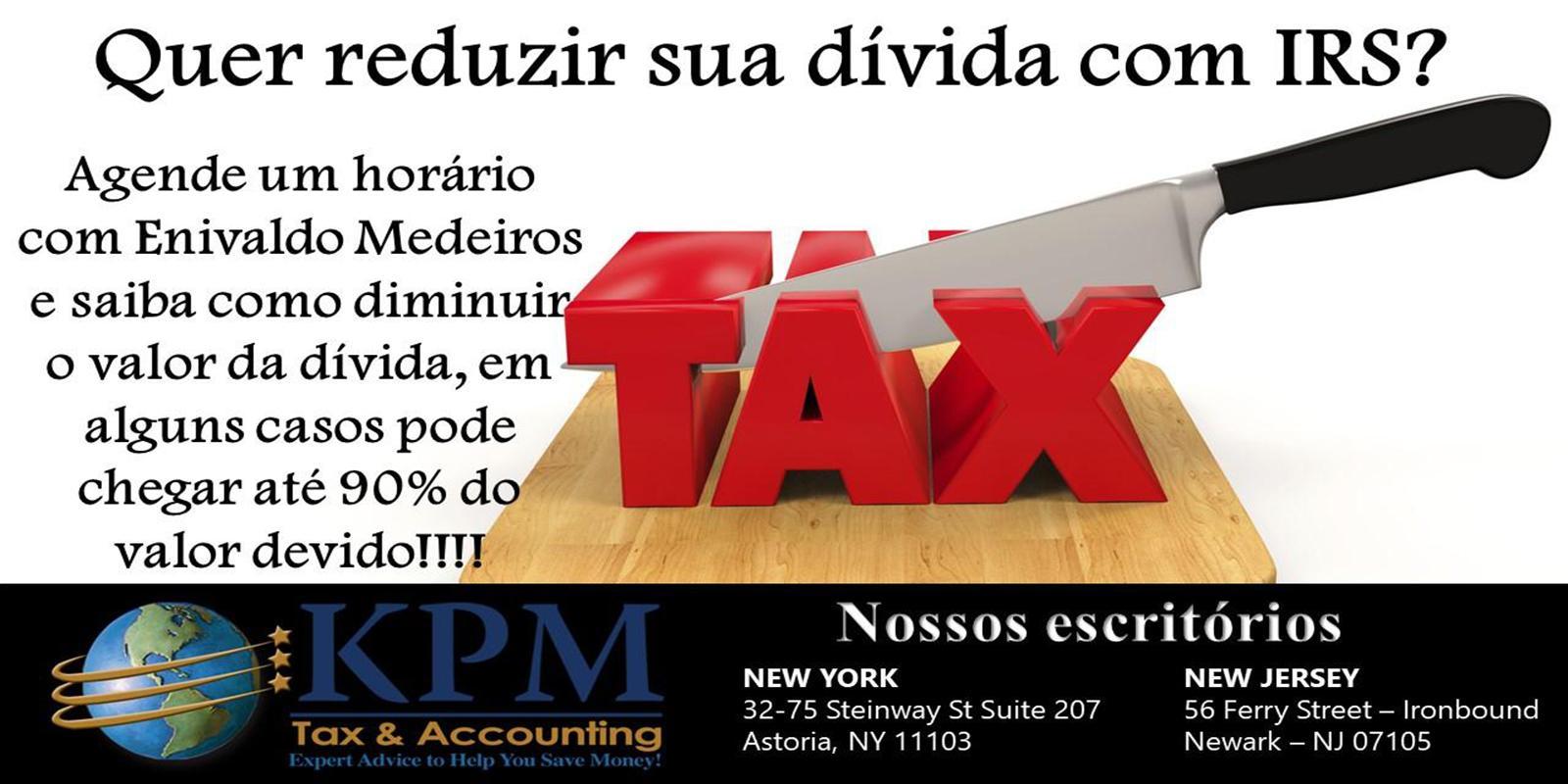 Quer reduzir sua dívida com IRS?