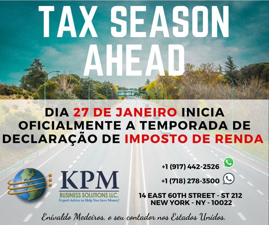 Dia 27 de janeiro inicia a temporada de declaração de imposto de renda americano