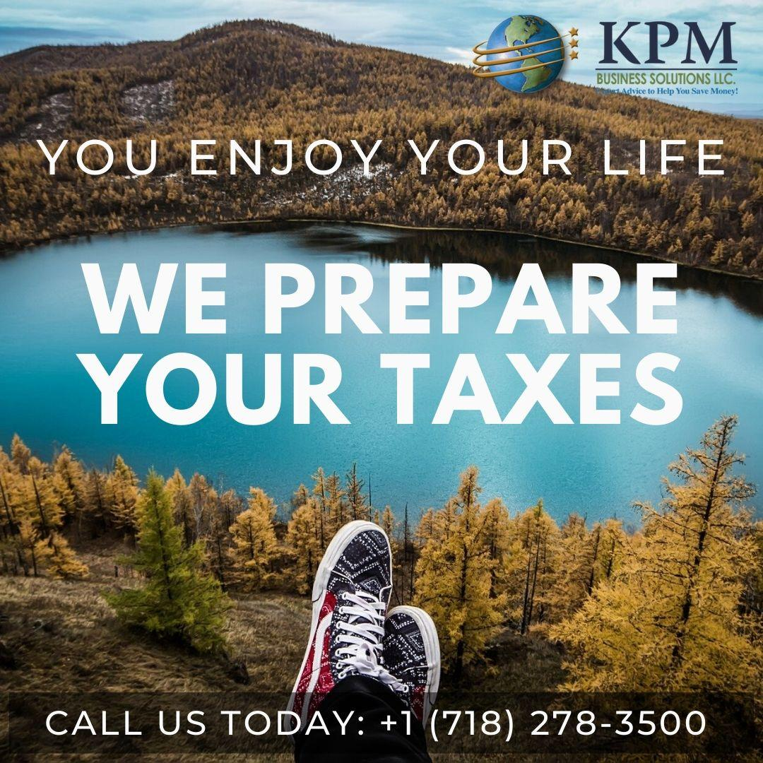 Enjoy your life, we take care of your taxes.
